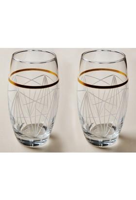 Başak Glossy 12 Adet Barrel Su - Meşrubat Bardağı