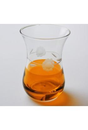 Paşabahçe 62511 Papatya(Turuncu) Büyük Ajda Çay Bardağı 12 Adet