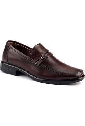 Cafu 1161 Deri Termal Kauçuk Taban Erkek Klasik Ayakkabı