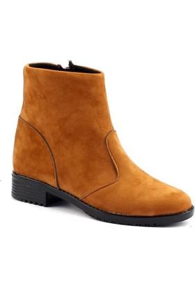 Mood Line K-04 Günlük Termo Taban Süet Bayan Bot Ayakkabı