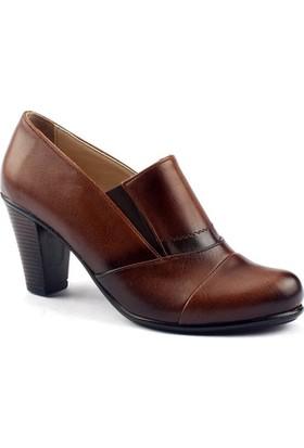 Ayakdaş 7928 Günlük 7,5 Cm Topuk Bayan Klasik Ayakkabı