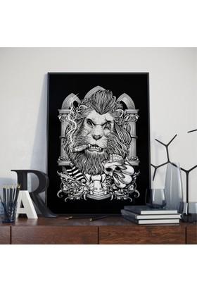 Asr King Iı - Kral Iı - Saten Kumaş Poster