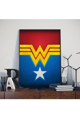 Asr Wonder Woman - Justice League - Saten Kumaş Poster