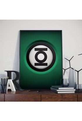 Asr Green Lantern - Justice League - Saten Kumaş Poster