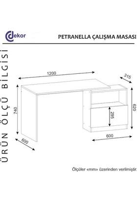 Cc Dekor Pantranella Çalışma Masası