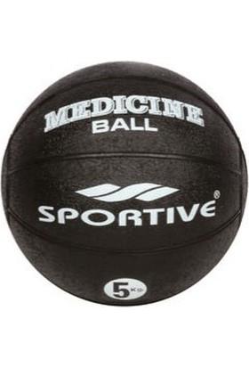 Sportive Siyah Sağlık Topu (5 Kg) 060030308005