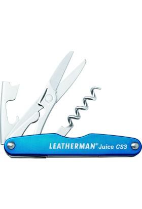 Leatherman Juice Cs3 Columbia Blue 3 Amaçlı Açacak & Makas