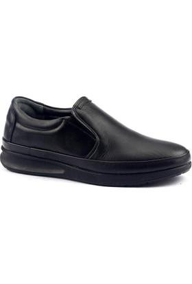 Cafu 044 Deri Termal Kauçuk Taban Erkek Klasik Ayakkabı