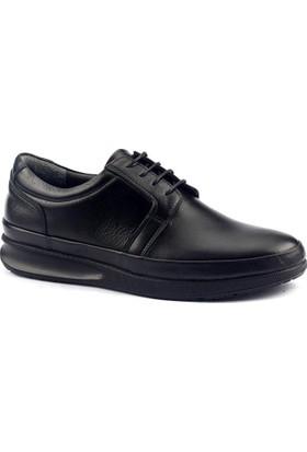 Cafu 045 Deri Termal Kauçuk Taban Erkek Klasik Ayakkabı