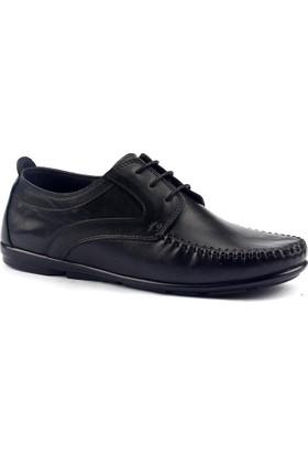Cafu 029 Deri Termal Kauçuk Taban Erkek Klasik Ayakkabı