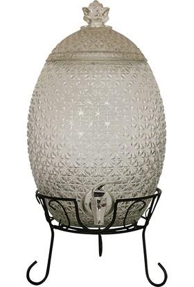 Bambum Dicle 8 Litre Musluklu Cam Sebil Cam Damacana T0052