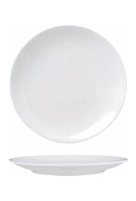 Güral Porselen Otel Serisi 12 Adet 25 Cm Düz Tabak