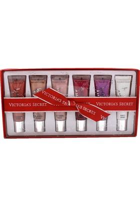 Victoria'S Secret 6 Adet Lip Gloss Kutulu lik Set