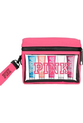 Victoria's Secret Pink Serisi 5 parça Çantalı Dudak Parlatıcısı Set