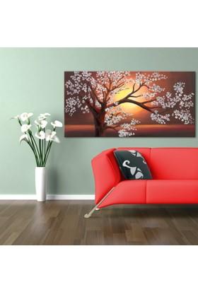 Evmanya Deco Ağaç Kanvas Tablo-3