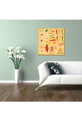 Hepsiburada Home Spıcy Fresh Kanvas Tablo