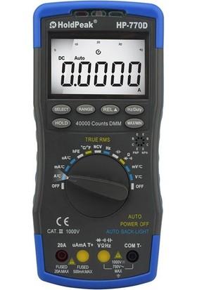 Holdpeak 770D Multimetre