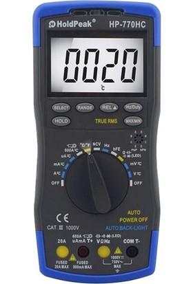 Holdpeak 770 Hc Ture Rms Multimetre