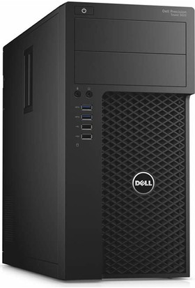 Dell Precision Tower 3620 Intel Xeon E3 1270v6 16GB 1TB + 256GB SSD Windows 10 Pro Masaüstü Bilgisayar T3620-Cınar_V2