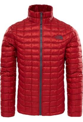 The North Face Thermoball Full Zip Erkek Mont Kırmızı