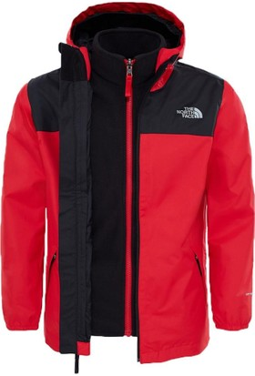 The North Face Elden Rain Triclimate Çocuk Mont Kırmızı