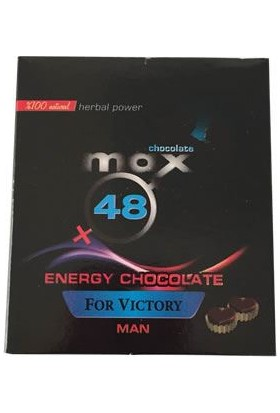 Bila Max48 Energy Chocolate Man