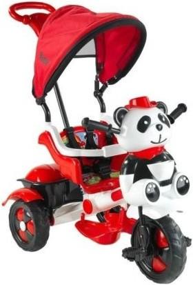 Ümit 127 Little Panda Tenteli Bisiklet Kırmızı - Beyaz
