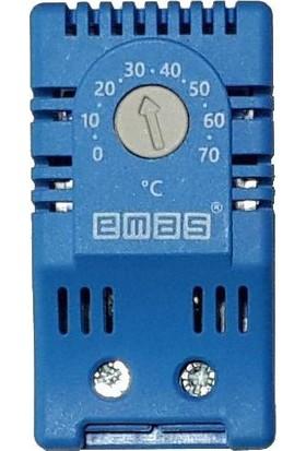 Pano Soğutma Termostat'ı 0-70°C Ray Tipi - Emas