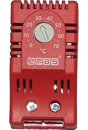 Pano Isıtma Termostat'ı 0-70°C Ray Tipi - Emas