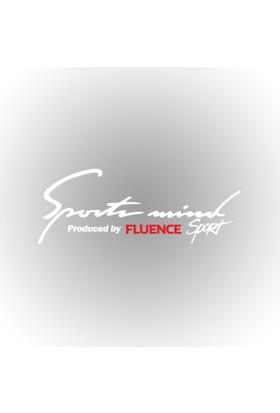 Otografik - Renault Fluence Sports Mind Oto Sticker 30 cmx11 cm Beyaz