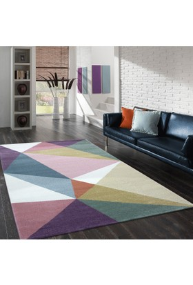 Merinos Pastel 21696 120x170 cm Renkli Modern Halı