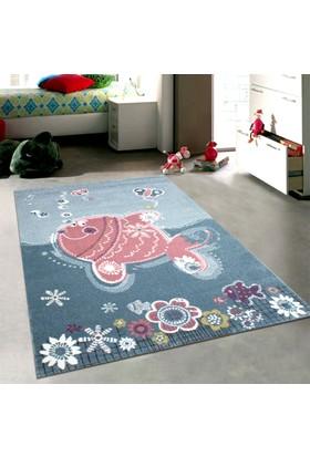 Merinos Pastel 21930 120x170 cm Şirin Balık Modern Çocuk Halısı