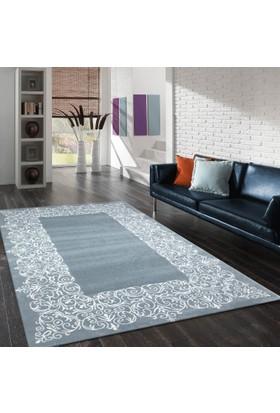Merinos Pastel 21984-30 120x170 cm Mavi / Beyaz Modern Halı