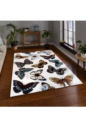 Merinos Tropics 16094-60 80x150 cm Kelebekli Modern Halı