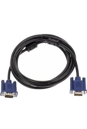 Azemax 1.5 Metre Vga E/E Kablo Monitör Projeksiyon Filtreli Siyah
