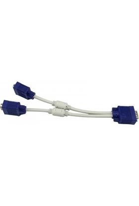 Azemax Vga Çoklayıcı 2li Y Kablo