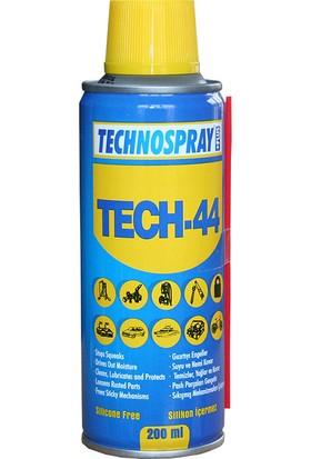 Technospray Tech 44 - Koruyucu Yağlayıcı - 200 ml