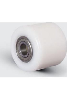 Zbz82X70X17 Poliamid Transpalet Tekerleği, Bilya Rulmanlı, Çap:82, Genişlik:70
