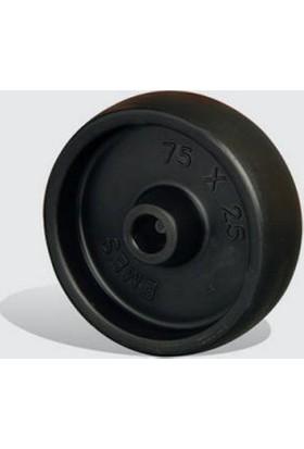 Burçlu, Polipropilen Tekerlekler Çap:38 - Mkm 38X14