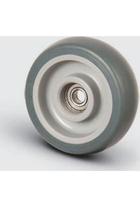 Bilya Rulmanlı, Termoplastik Kauçuk Tekerlek Çap: 200 – Mbt 200X32