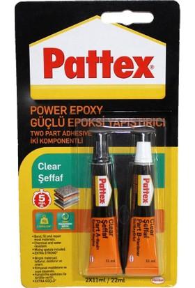 Pattex Yapıştırıcı Power Epoxy 2*11 ml