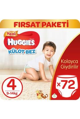 Huggies Pants Külot Bebek Bezi Maxi 4 Beden Fırsat Paketi 72 Adet