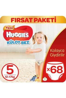 Huggies Pants Külot Bebek Bezi Junior 5 Beden Fırsat Paketi 68 Adet