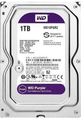 Wd 1 Tb 5400Rpm 64Mb Sata3 Purple 7/24 Hdd