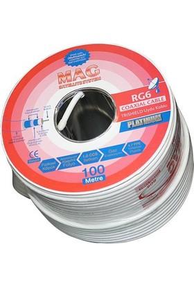 Mag Rg6/U4 Mag Platinum Kablo 100 M