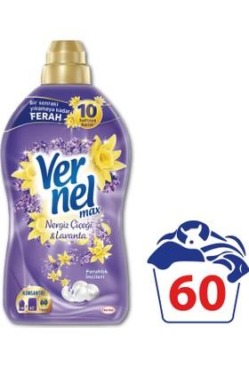 Vernel Max Konsantre Çamaşır Yumuşatıcısı Nergis Çiçeği ve Lavanta Yumuşatıcı 1440 ml 60 Yıkama