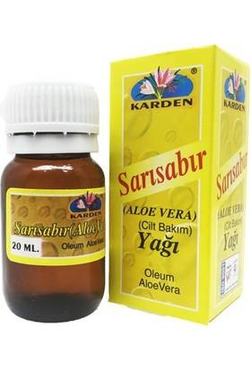 Karden Aloe Vera Sarı Sabır Yağı 20 ml