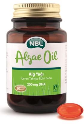 Nbl Algae Oil 30 Kapsül 200 Mg Dha Alg Yağı