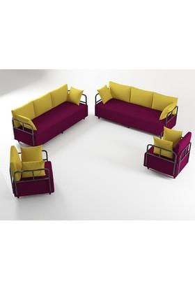 Ahsen Oturma Grubu - Mürdüm-Sarı