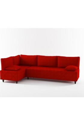 Red Love Köşe Takımı Kırmızı